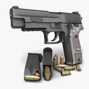 Sig Sauer P226 Extreme 9mm 3d model