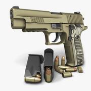 Sig Sauer P226 Scorpion 9mm 3d model