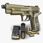 Sig Sauer P226 Scorpion TB 9mm 3d model