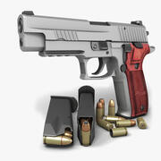 Sig Sauer P226 Eliteステンレス9mm 3d model