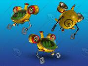 Bathyscaphe 3d model