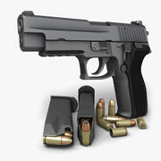 Sig Sauer P226 Nitron 9mm 3d model