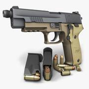 Sig Sauer P226 Combat TB 9mm 3d model