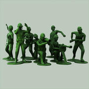 Toy Soldiers Collection 3d model