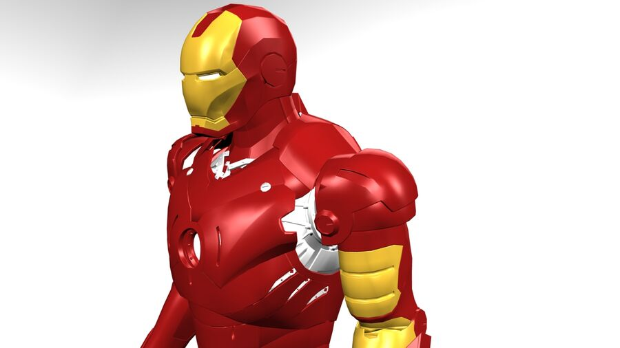 Iron Man royalty-free 3d model - Preview no. 1