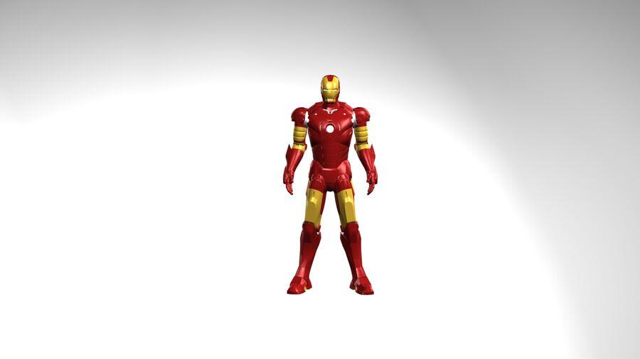 Iron Man royalty-free 3d model - Preview no. 2