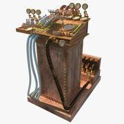 Steampunk-computer 3d model