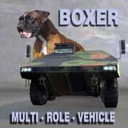 拳击手多用途车 3d model