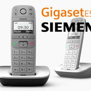 Siemens Gigaset E500 3d model