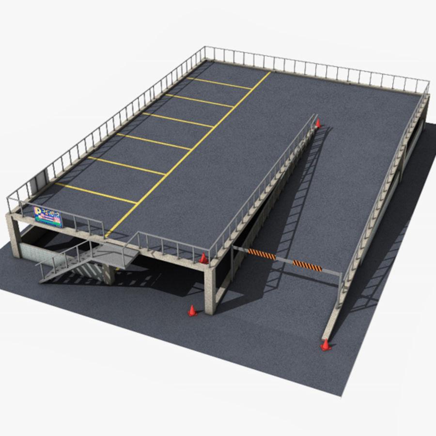 Parking 3d model 12 max fbx lwo obj free3d for 3d garage builder