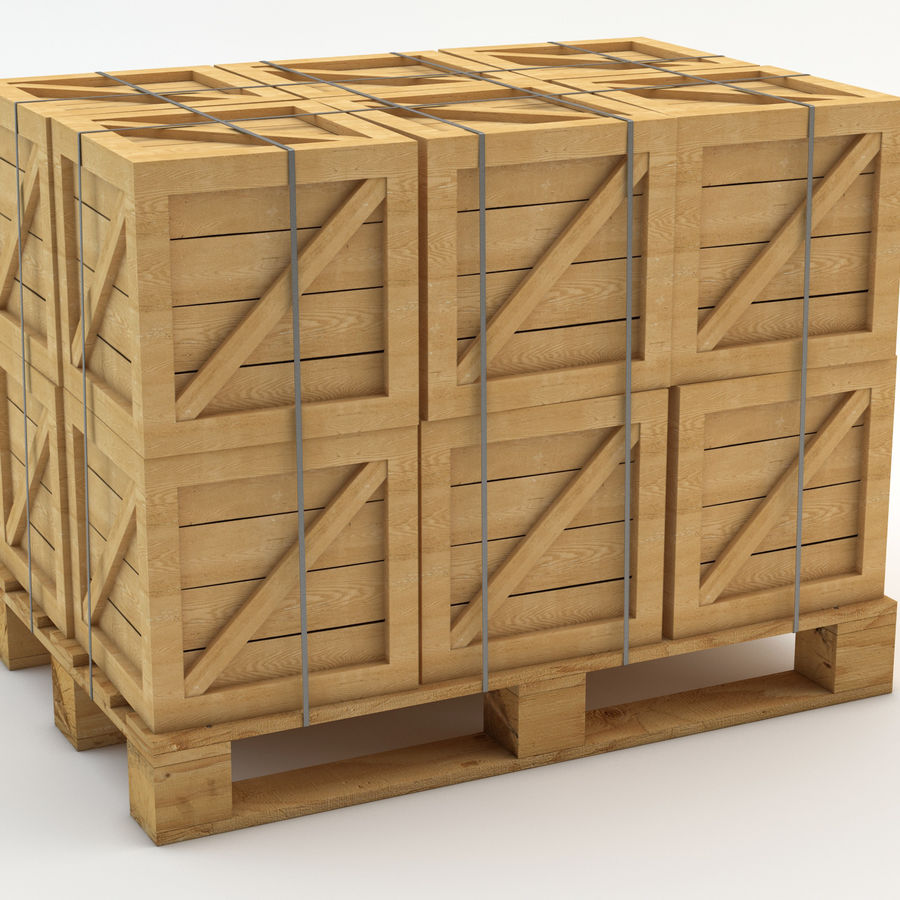 Industrial Rack royalty-free 3d model - Preview no. 8