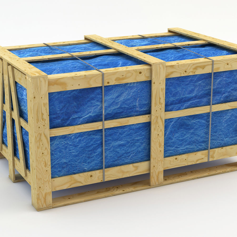 Industrial Rack royalty-free 3d model - Preview no. 7