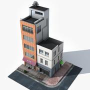 Japonya binası 002 3d model