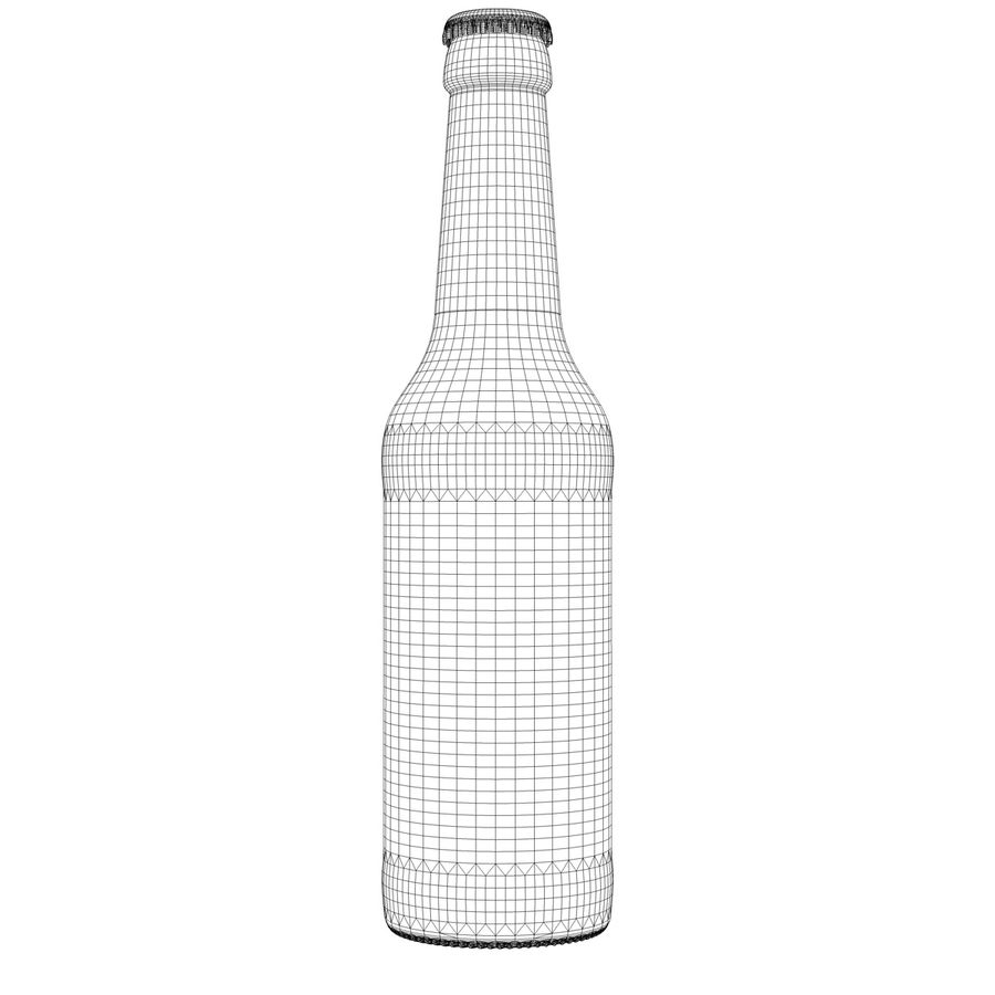Beck`s Bottle royalty-free 3d model - Preview no. 10