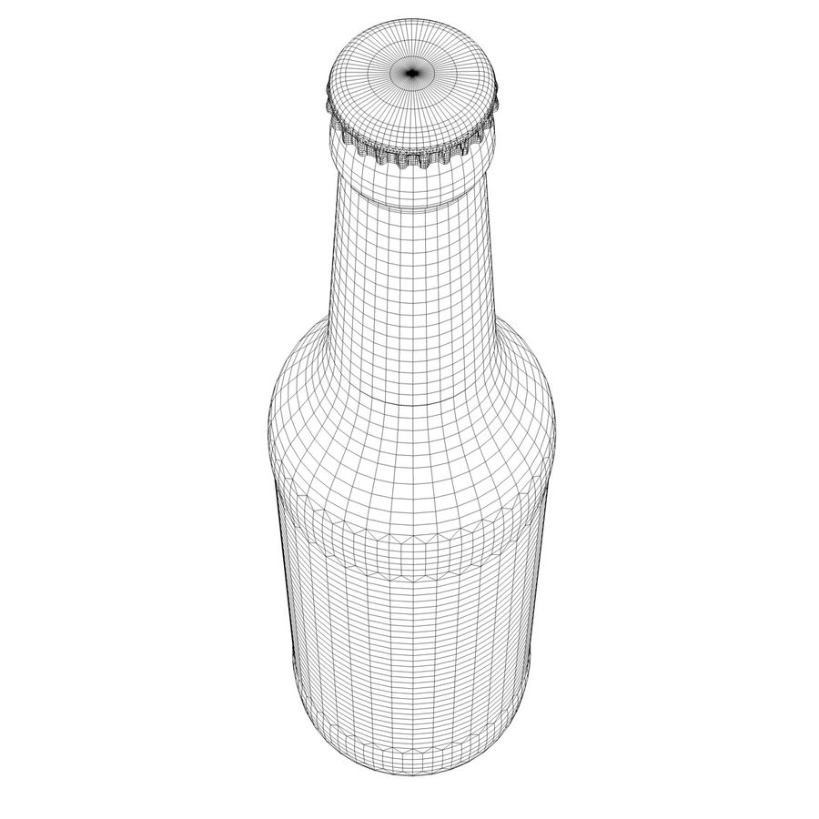 Beck`s Bottle royalty-free 3d model - Preview no. 8
