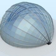 roto-dome (small) 3d model