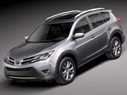 Toyota RAV4 2013 3d model