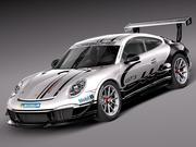Porsche 911 GT3 Kupası 2013 3d model