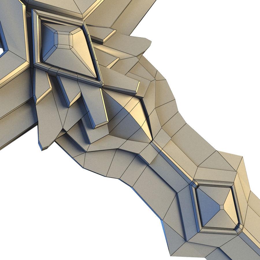 Sword concept royalty-free 3d model - Preview no. 9