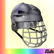 Casque de hockey 3d model