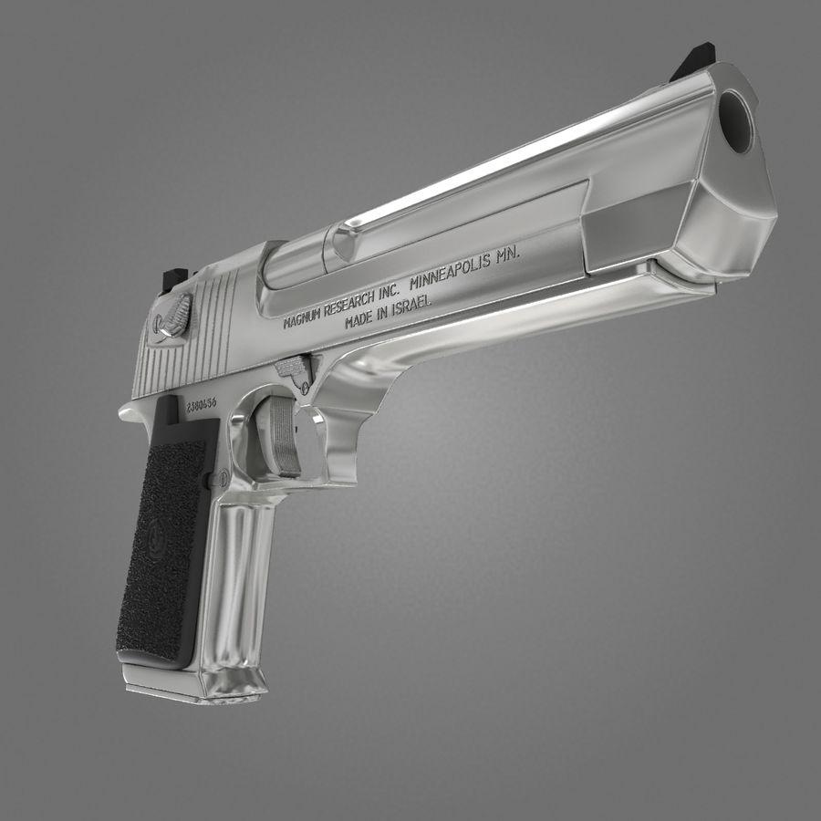 沙漠之鹰.50AE royalty-free 3d model - Preview no. 3