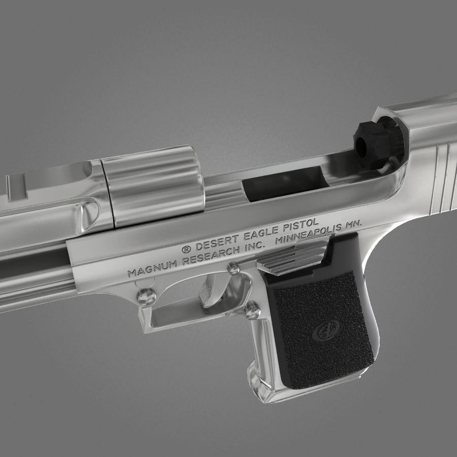 沙漠之鹰.50AE royalty-free 3d model - Preview no. 19