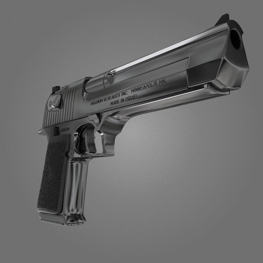 沙漠之鹰.50AE royalty-free 3d model - Preview no. 4