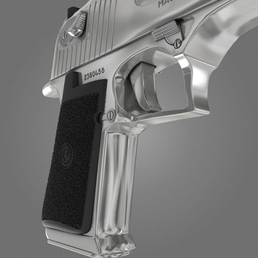 沙漠之鹰.50AE royalty-free 3d model - Preview no. 14