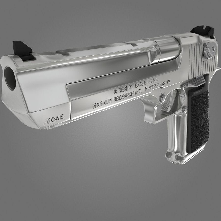 沙漠之鹰.50AE royalty-free 3d model - Preview no. 16