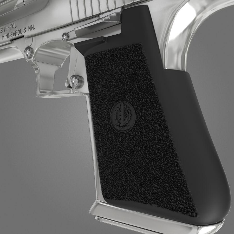沙漠之鹰.50AE royalty-free 3d model - Preview no. 18