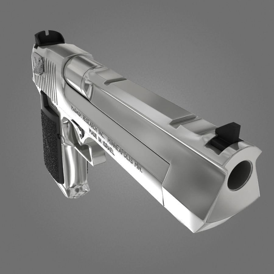 沙漠之鹰.50AE royalty-free 3d model - Preview no. 15