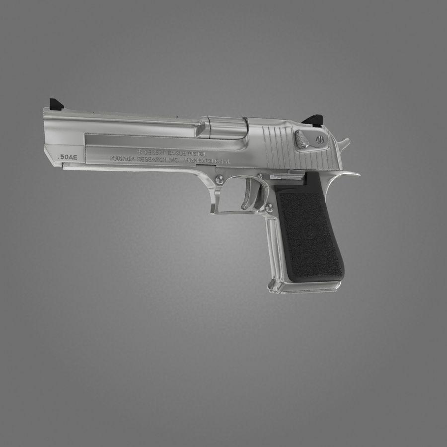 沙漠之鹰.50AE royalty-free 3d model - Preview no. 5