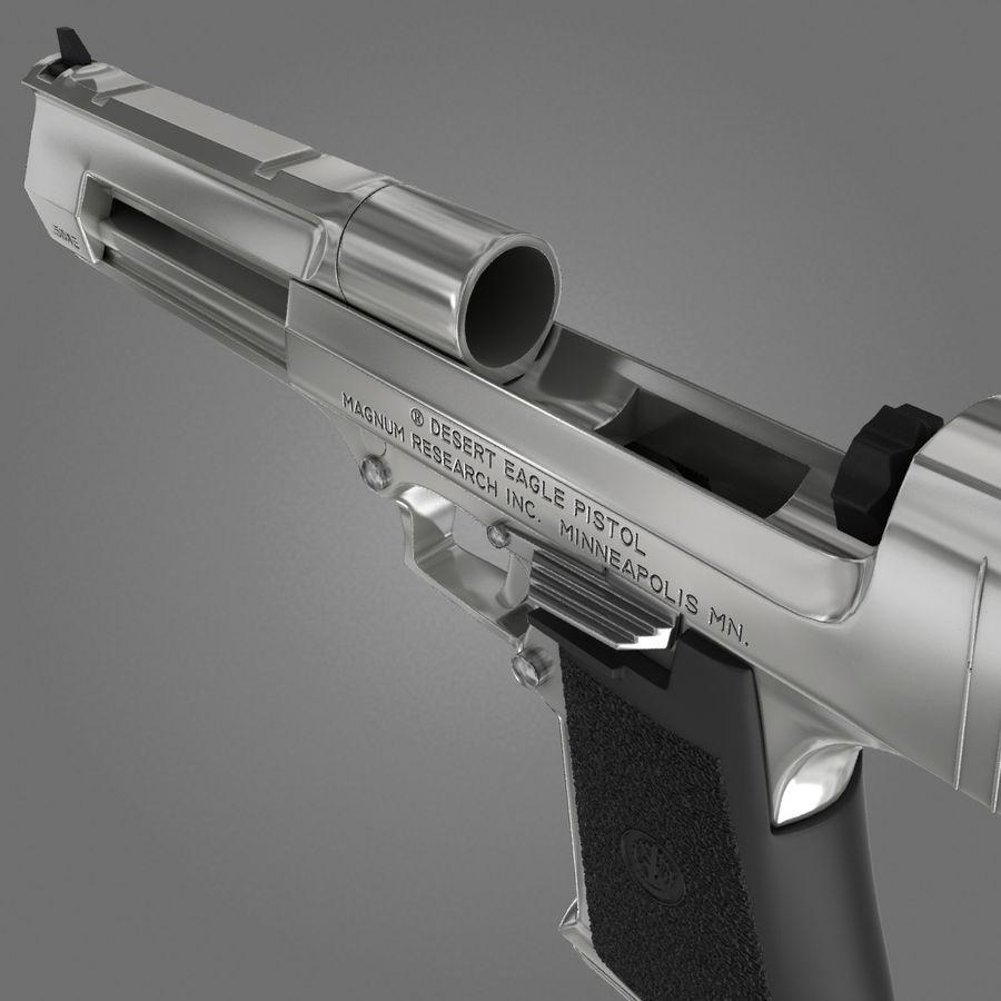 沙漠之鹰.50AE royalty-free 3d model - Preview no. 20