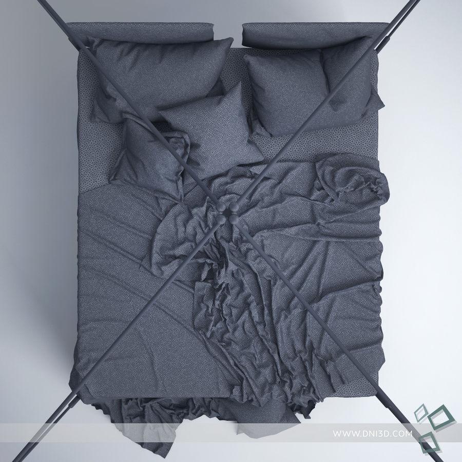 Bed Flou Krim royalty-free 3d model - Preview no. 7