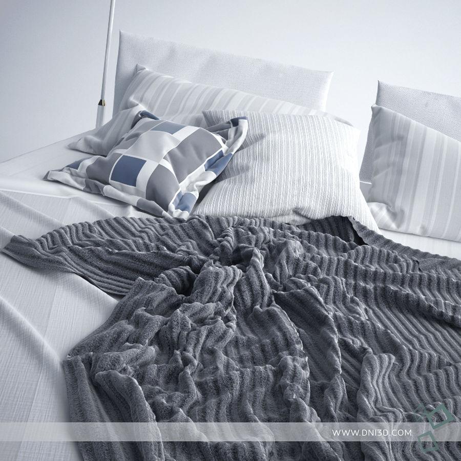 Bed Flou Krim royalty-free 3d model - Preview no. 2