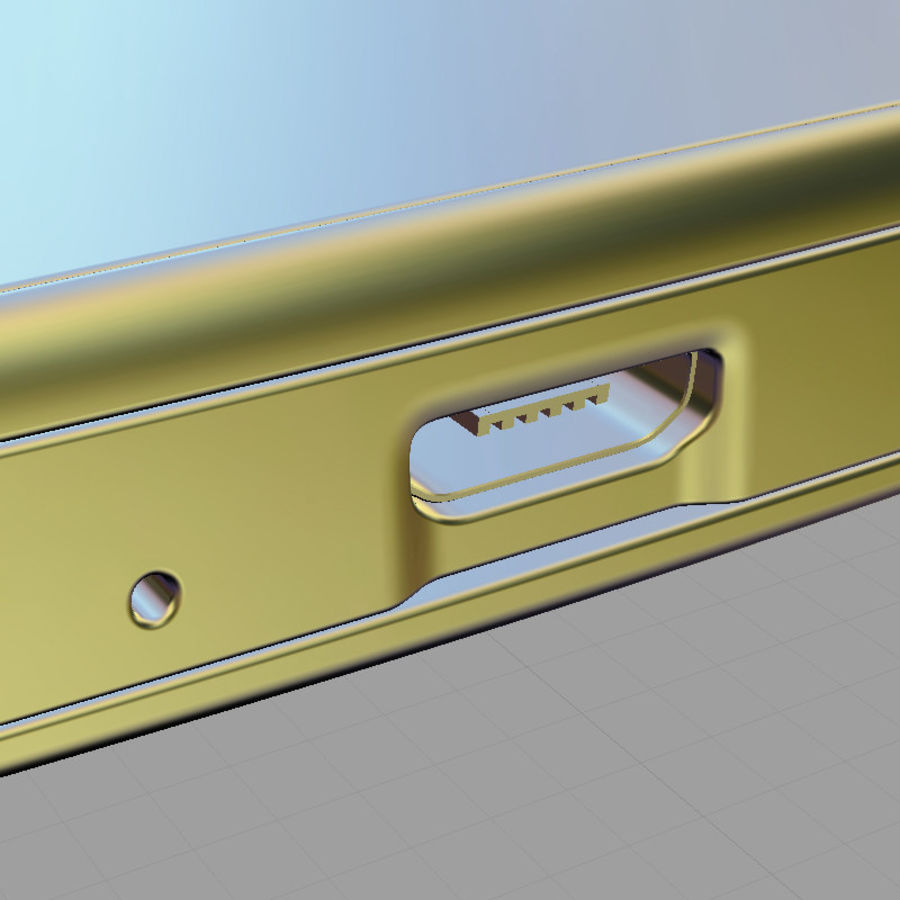 HTC Desire SV royalty-free 3d model - Preview no. 16