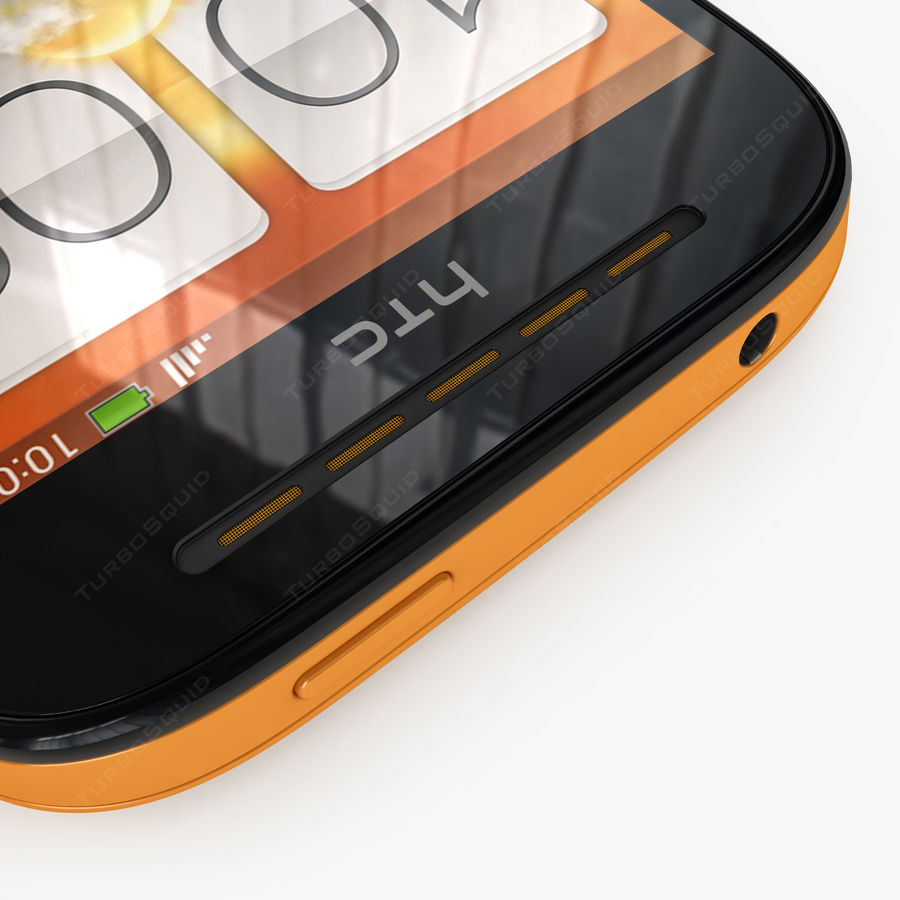 HTC Desire SV royalty-free 3d model - Preview no. 11