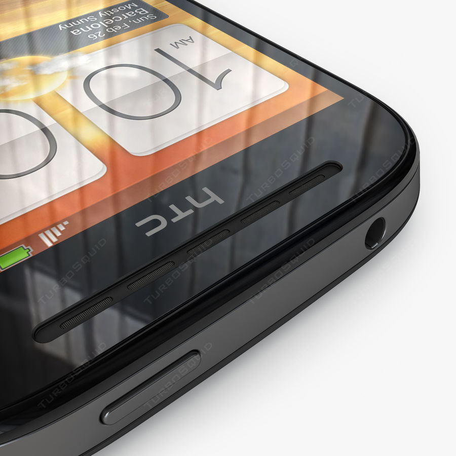 HTC Desire SV royalty-free 3d model - Preview no. 10