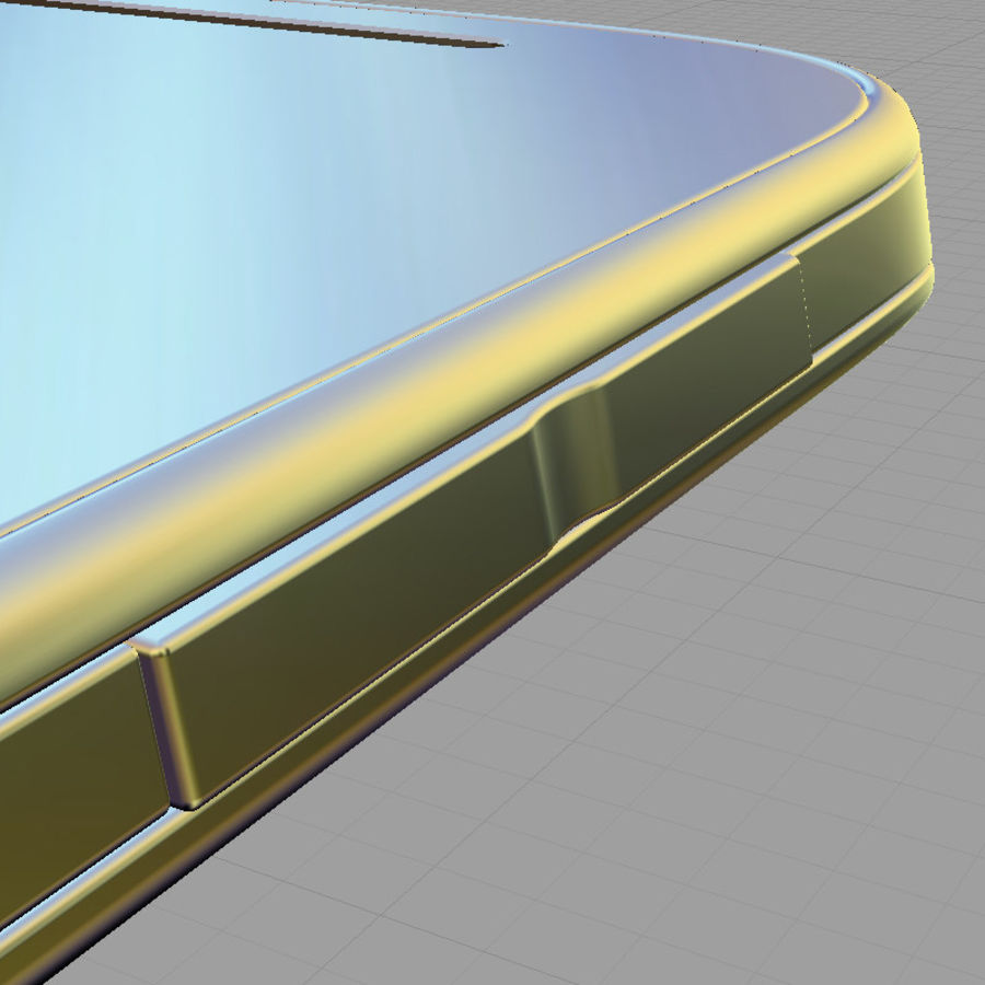 HTC Desire SV royalty-free 3d model - Preview no. 17