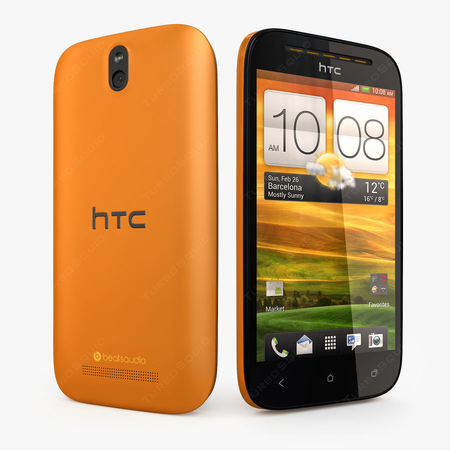HTC Desire SV royalty-free 3d model - Preview no. 1