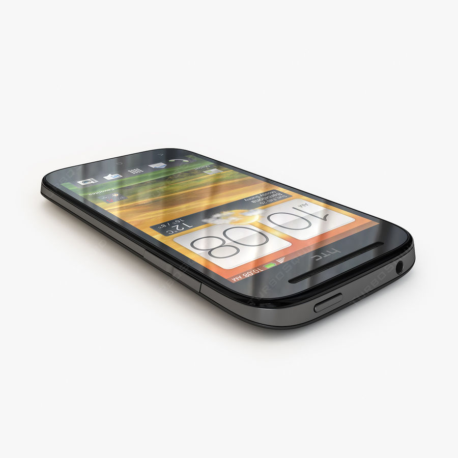 HTC Desire SV royalty-free 3d model - Preview no. 8