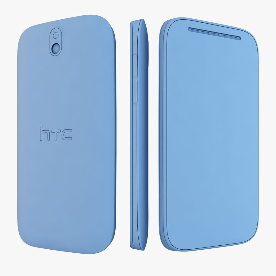 HTC Desire SV royalty-free 3d model - Preview no. 14