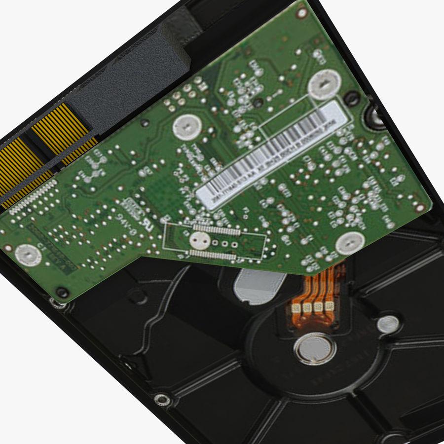 Hårddisk med intern hårddisk royalty-free 3d model - Preview no. 9
