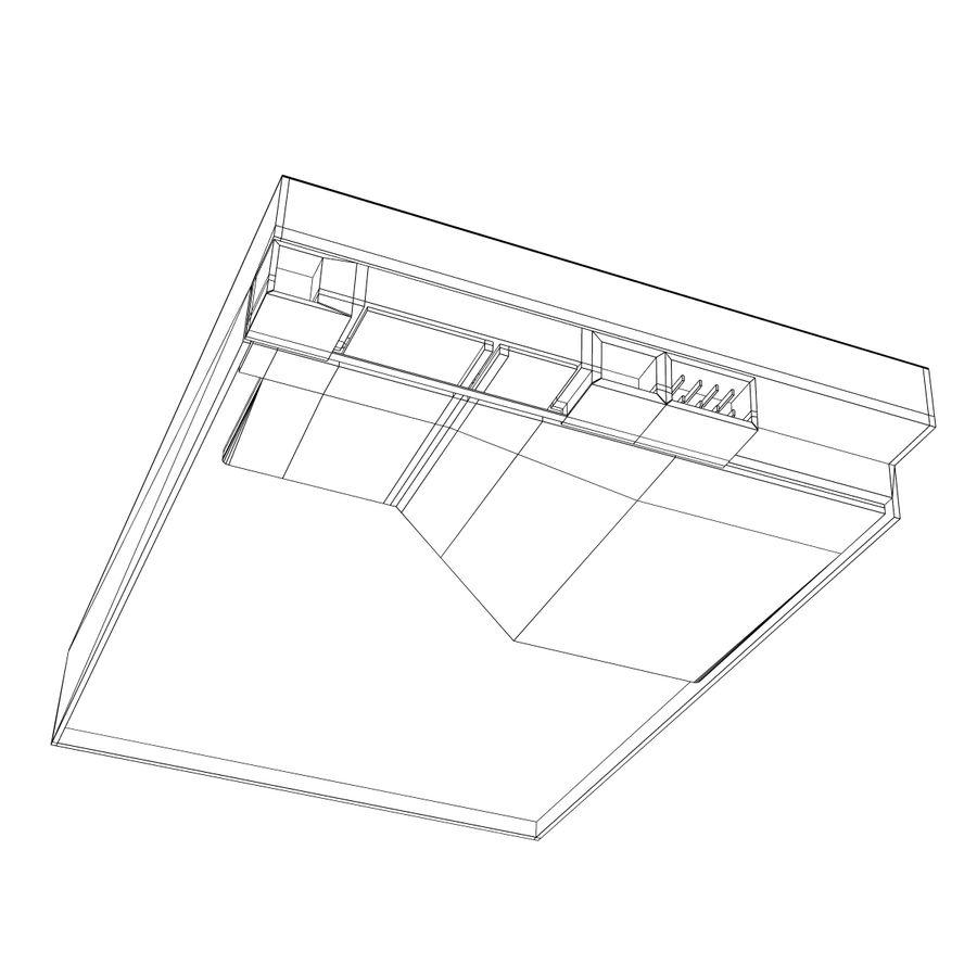 Hårddisk med intern hårddisk royalty-free 3d model - Preview no. 10