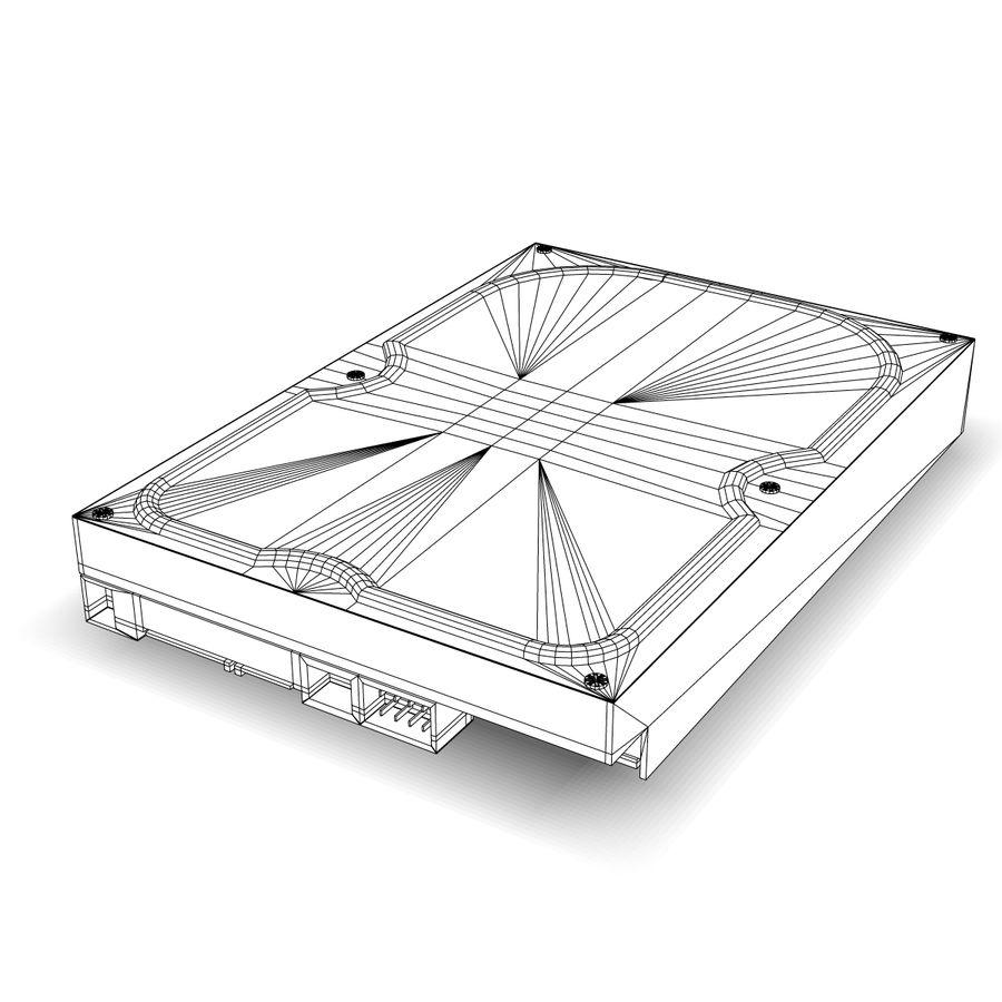 Hårddisk med intern hårddisk royalty-free 3d model - Preview no. 11