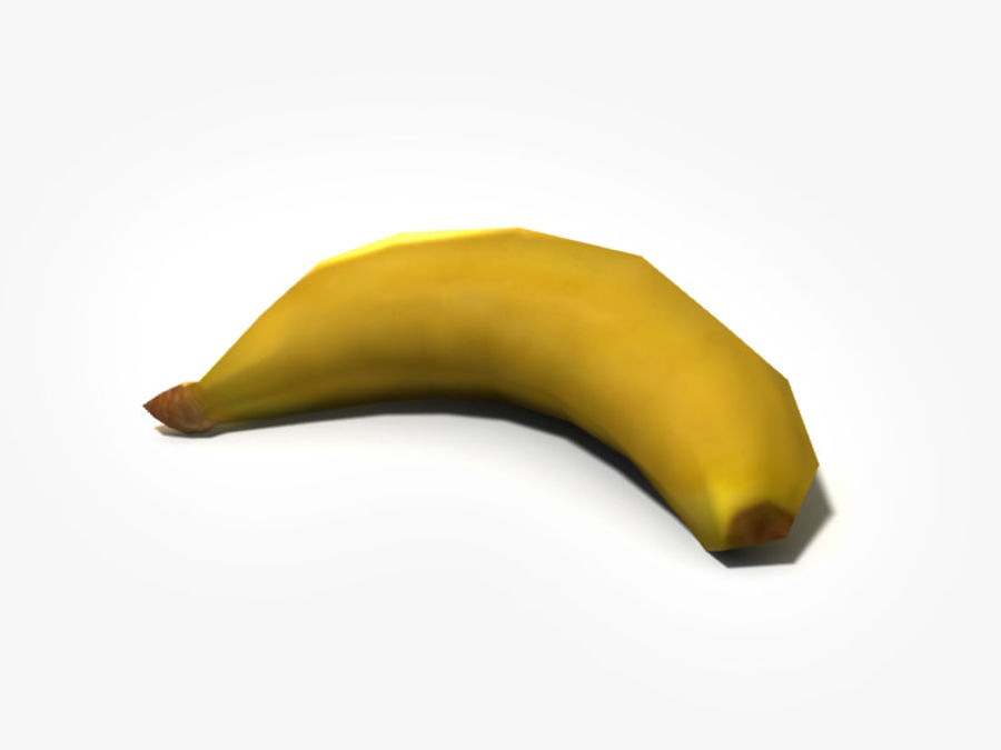 plátano royalty-free modelo 3d - Preview no. 1