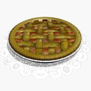 Яблочный пирог 3d model