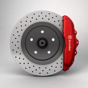 Дисковый тормоз 3d model