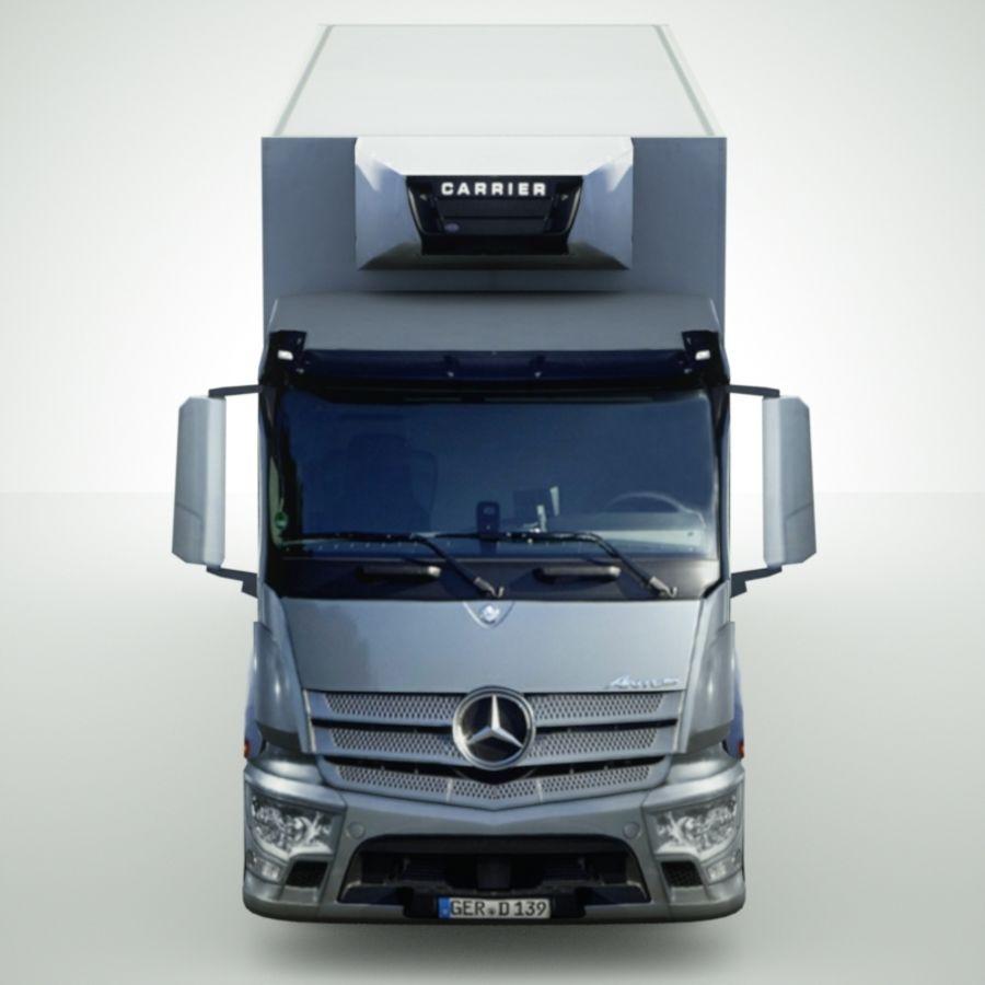 Mercedes-Benz Antos 2013 royalty-free 3d model - Preview no. 5