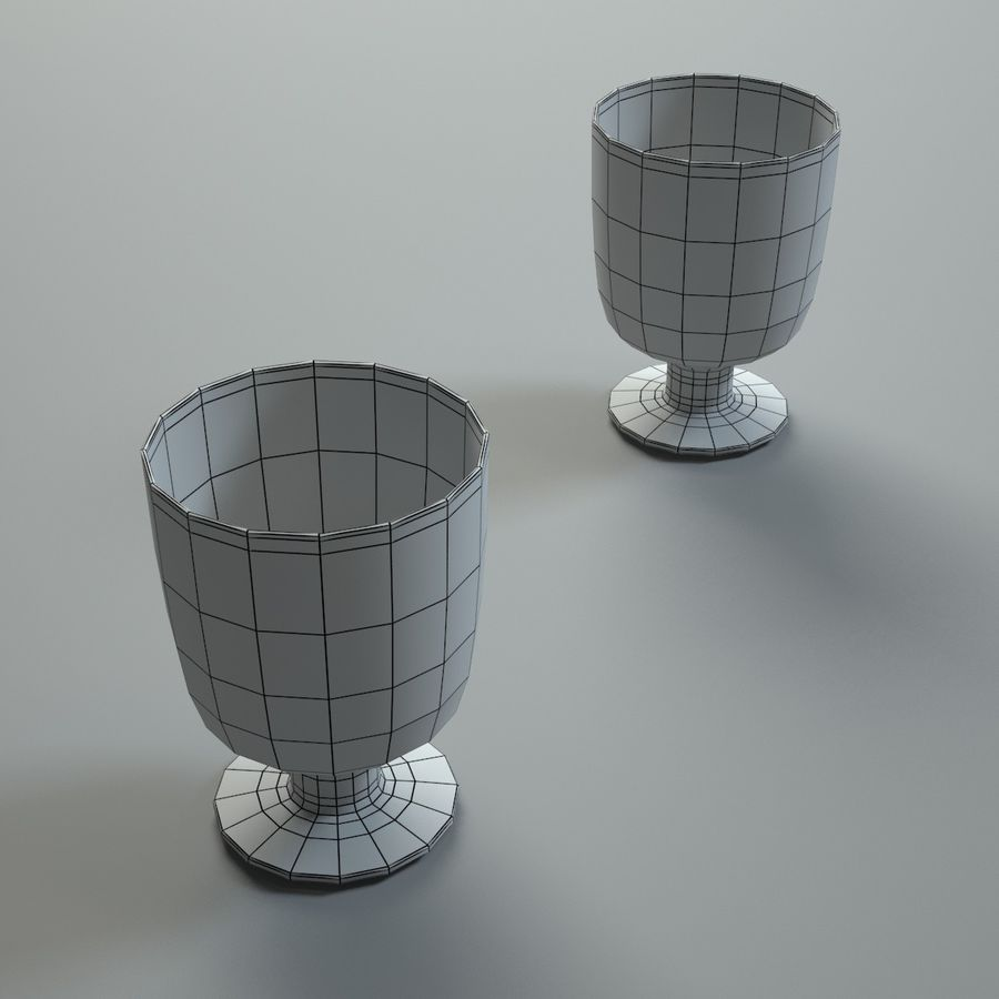 Kitchen Accessories 1 royalty-free 3d model - Preview no. 11
